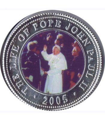 Republica Somalia 250 Shilling 2005. Papa Juan Pablo II. nº1  - 1