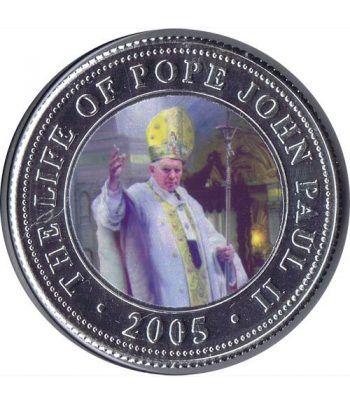 Republica Somalia 250 Shilling 2005. Papa Juan Pablo II. nº2  - 1