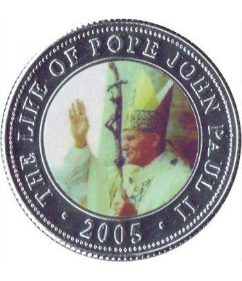Republica Somalia 250 Shilling 2005. Papa Juan Pablo II. nº5  - 1
