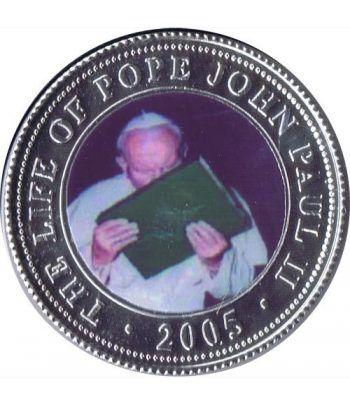 Republica Somalia 250 Shilling 2005. Papa Juan Pablo II. nº6  - 1