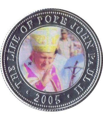 Republica Somalia 250 Shilling 2005. Papa Juan Pablo II. nº9  - 1