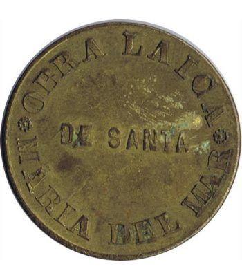 Medalla Obra Laica de Santa Maria del Mar. Latón.  - 1