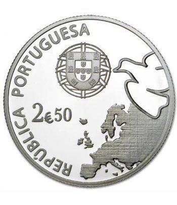 Portugal 2.5 Euros 2015. 70 Años de Paz en Europa.  - 1
