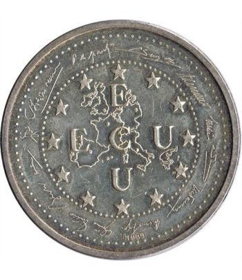 Moneda ECU Europe 1993.  - 1