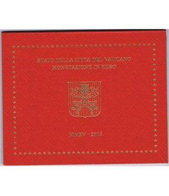 Cartera oficial euroset Vaticano 2015 Papa Francisco I.  - 2