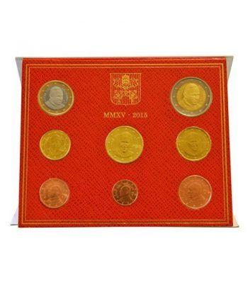 Cartera oficial euroset Vaticano 2015 Papa Francisco I.  - 1