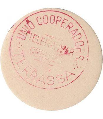 5 centims Unió Cooperadors Terrassa. SC.  - 2