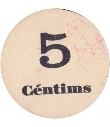 5 centims Unió Cooperadors Terrassa. SC.  - 4