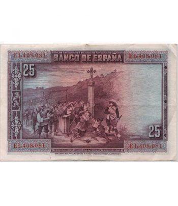 (1928/15/08) Madrid 25 Pesetas MBC.  - 2