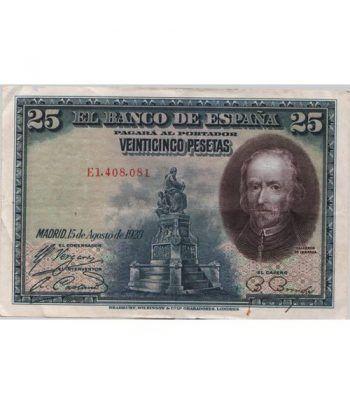 (1928/15/08) Madrid 25 Pesetas MBC.  - 4