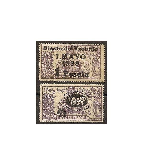 0761/62 Fiesta Trabajo (Charnela)  - 2