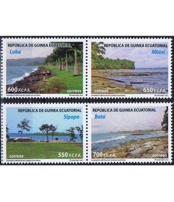 478/81 Ciudades Turísticas de Guinea Ecuatorial 2013.  - 2
