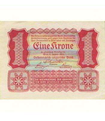 Austria 1 Corona 1922. Eine Krone. SC.  - 2