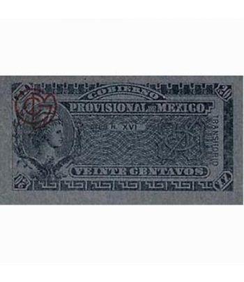 Mexico 20 centavos 1914 Gobierno Provisional. SC  - 1