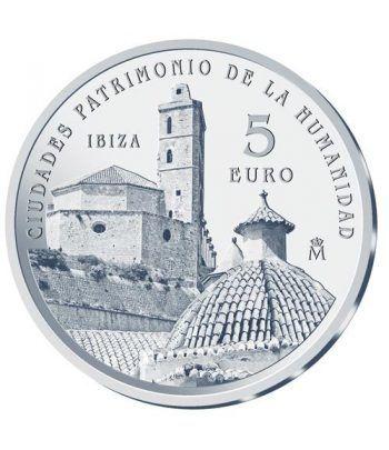 Moneda 2015 Patrimonio de la Humanidad. Ibiza. 5 euros.  - 1