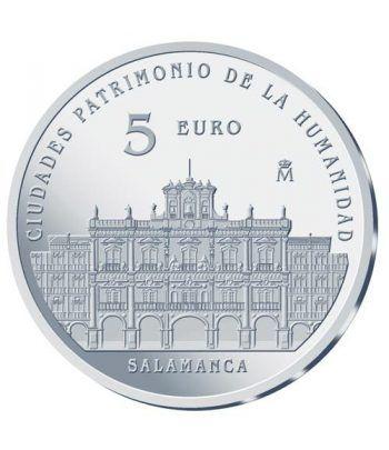 Moneda 2015 Patrimonio de la Humanidad. Salamanca. 5 euros.  - 1