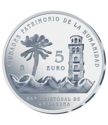 Moneda 2015 Patrimonio de la Humanidad. San Cristobal 5 euros.  - 1