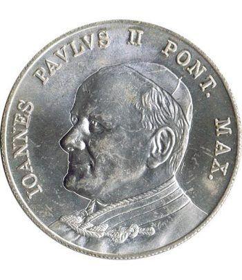 Medalla Papa Juan Pablo II Pontifice Maximo. Vaticano B.  - 1