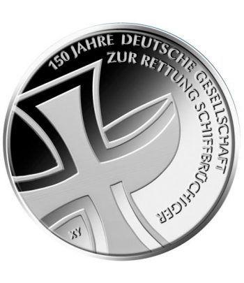 moneda Alemania 10 Euros 2015 J. Busqueda y Rescate.  - 1