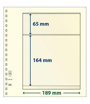 LINDNER Hojas clasificadoras T-Blanko 802203 Paquete de 10 Hojas Clasificadoras - 2