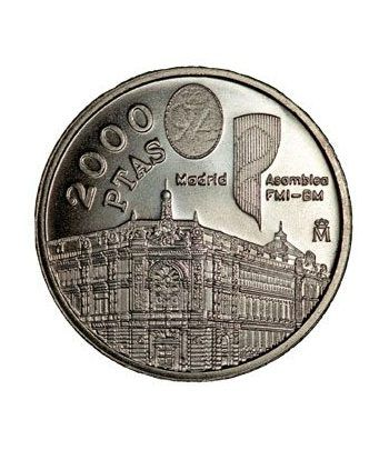 Moneda conmemorativa 2000 ptas. 1994.  Plata.  - 2