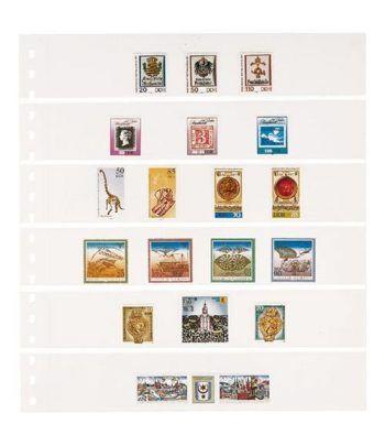 LINDNER Hoja clasificadora Blanca 6 tiras OMNIA 014 Hojas Clasificadoras - 2
