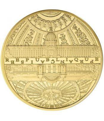 Francia 5€ 2015 UNESCO. Invalidos y Gran Palacio. Oro.  - 1