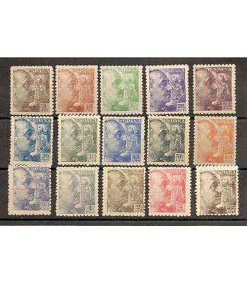0919/35 Franco (falta el 931 y 934)  - 2