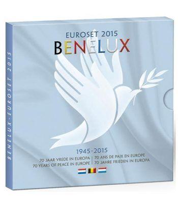 Cartera oficial euroset Benelux 2015.  - 1