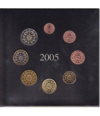 Cartera oficial euroset Portugal 2005 (II)  - 1