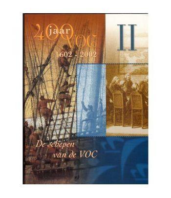 Cartera oficial euroset Holanda 2002 VOC II con medalla plata.  - 1
