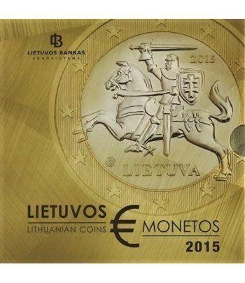 Cartera oficial euroset Lituania 2015.  - 2