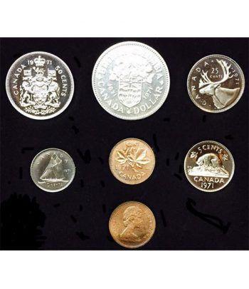Estuche monedas Canada 1971 British Columbia.  - 2