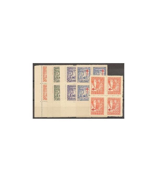 0984/88 Pro Tuberculosos (Bloque de 4)  - 2