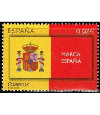 4877 Marca España. Escudo y Bandera.  - 2