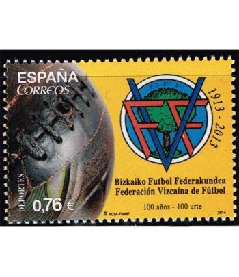 4889 Centenario Federación Vizcaína de Fútbol.  - 2