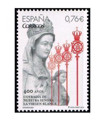 4903 Efemérides 400º Aniversario Virgen Blanca.  - 2