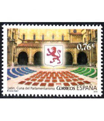 4909 León Cuna del Parlamentarismo 2014  - 2