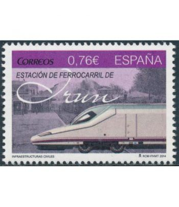 4914 Infraestructuras civiles. Estación Ferrocarril Irún  - 2
