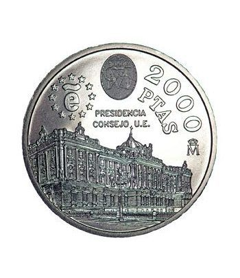 Moneda conmemorativa 2000 ptas. 1995.  Plata.  - 4