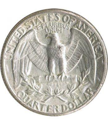 Moneda de plata 1/4 $ Estados Unidos 1944.  - 2