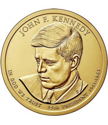 E.E.U.U. 1$ (2015) 35º Presidencial John F. Kennedy (2cecas)  - 2