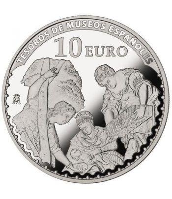 Moneda 2015 Tesoros Españoles. Tintoretto. 10 euros. Plata.  - 1