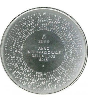 Cartera oficial euroset San Marino 2015 + 5€ (plata).  - 4