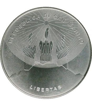Cartera oficial euroset San Marino 2015 + 5€ (plata).  - 6