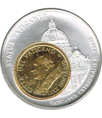 Medalla Vaticano Catedral San Pedro, Papa Juan XIII.  - 1