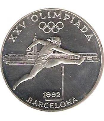 Moneda de plata 20 Diners Andorra 1990 Salto Obstaculos.  - 1