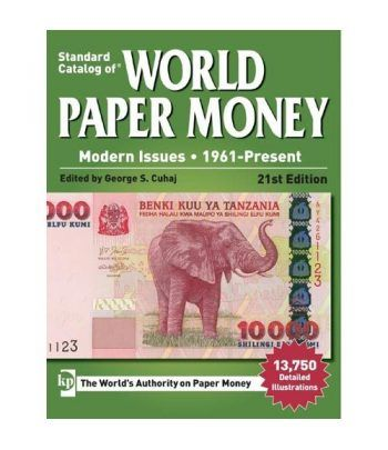 Catalogo billetes mundial WORLD PAPER desde 1961. Edicion 21. Catalogos Billetes - 2