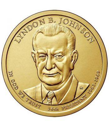 E.E.U.U. 1$ (2015) 36º Presidencial Lyndon B. Johnson (2cecas)  - 2