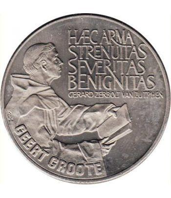 Moneda 2.5 ECU de Holanda 1990 Geert Groote. Níquel.  - 1